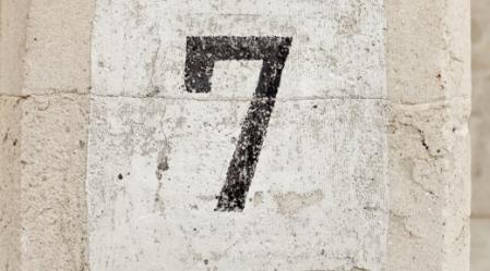 המספר שבע או כפולותיו (14,21,28) משמש כאבן היסוד לאורך כל פרשיות התורה.